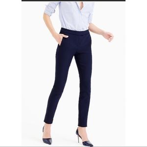 J. Crew style B7854 Ryder Pants in Black, size 12